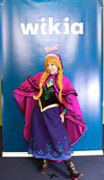 C2E2: Anna Cosplay by MomoKurumi