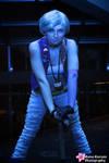 RamenCon 2014: Punk Sailor Uranus in Blue by MomoKurumi