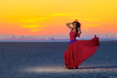 Esmeralda: Sunset by MomoKurumi