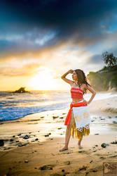 Moana: Ocean Love by MomoKurumi