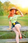 Park Ranger Jessica Rabbit by MomoKurumi