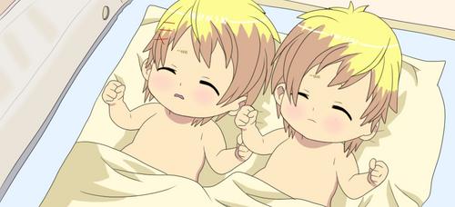Hugtto! PreCure Redraw - Syo and Kaoru are born by HedgeCatDragonix