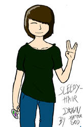 Sleepy-hair by HammerGod