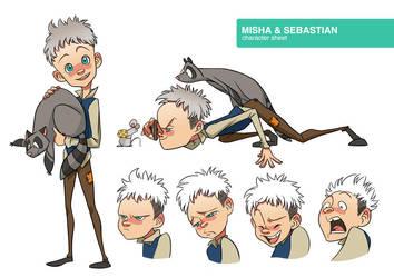 Misha and Sebastian by S-P-N
