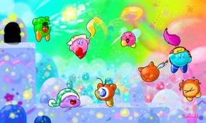 Kirby Colors3D 1 by Kokorokeke