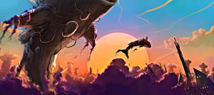 Dawncitywhales by Kamikaye