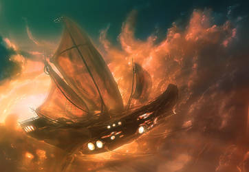 Skyship I by Kamikaye