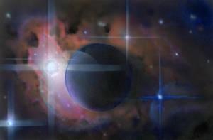 Hydrogen Nebula by Kamikaye