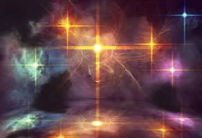 Glaring Nebula by Kamikaye