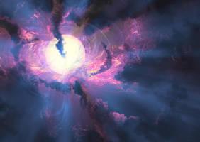 Violet Starfire by Kamikaye