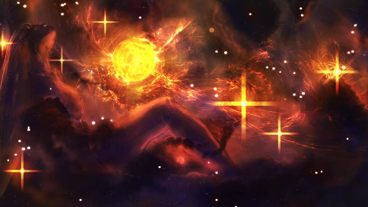Anthromorphic Nebula by Kamikaye