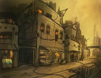 Duststreet by Kamikaye