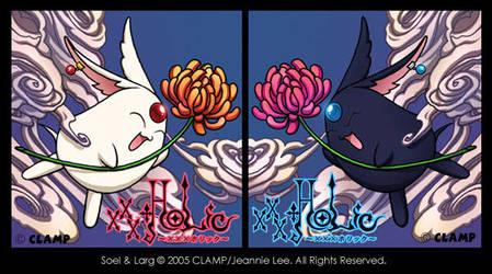 Soel and Larg from xxxHOLiC by junosama