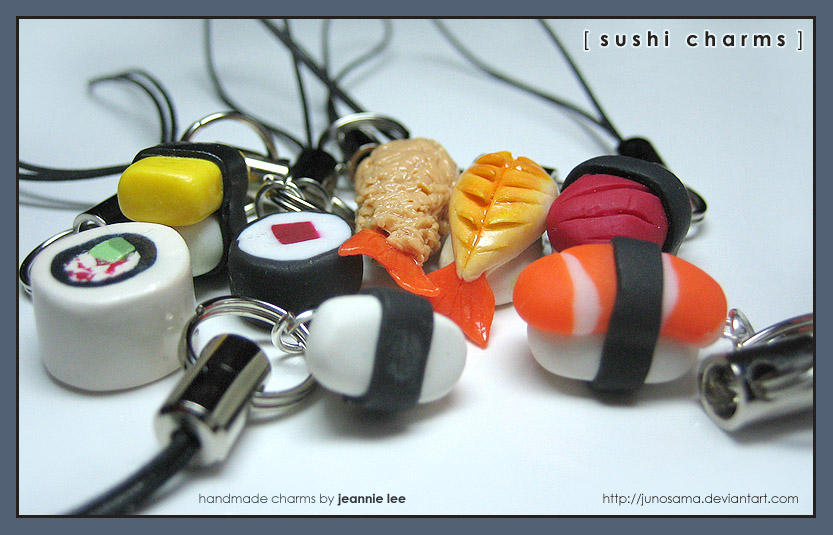 Food: Sushi - Assorted 1 by junosama