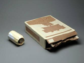 Cardboard Breakfast by Tweaq