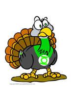 Green Lantern Turkey by Tweaq