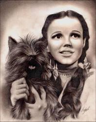 Judy Garland +Wizard of Oz+ by MEISerenade