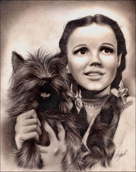 Judy Garland +Wizard of Oz+ by MEISerenade