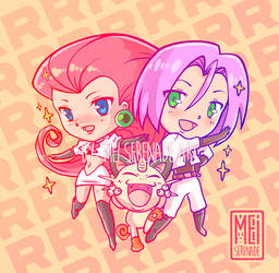 HERE COMES TEAM ROCKET!!! by MEISerenade