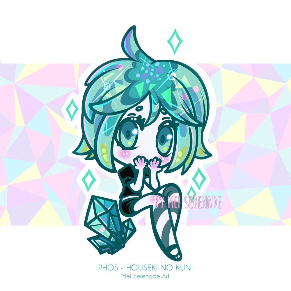 Houseki No Kuni - Phosphophyllite by MEISerenade