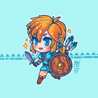 Link - Zelda Breath of the Wild by MEISerenade