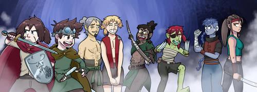 Kai's Quest Returns by gghgncomics