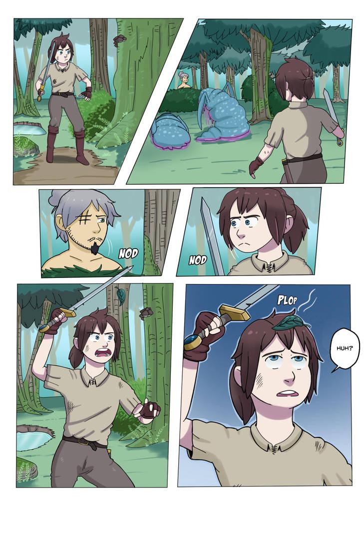 Kai's Quest 1-5 by gghgncomics