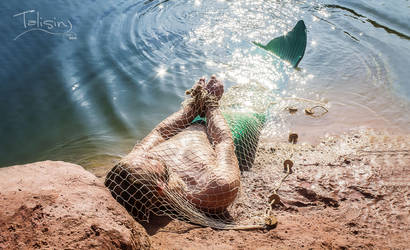 stranded.merman by creativeIntoxication