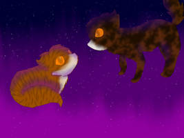 Spottedleaf and Leafpool by unclaimed--username