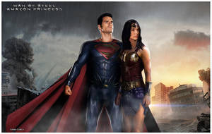 Man Of Steel x Amazon Princess - A New Day HasCome by GabeCurly
