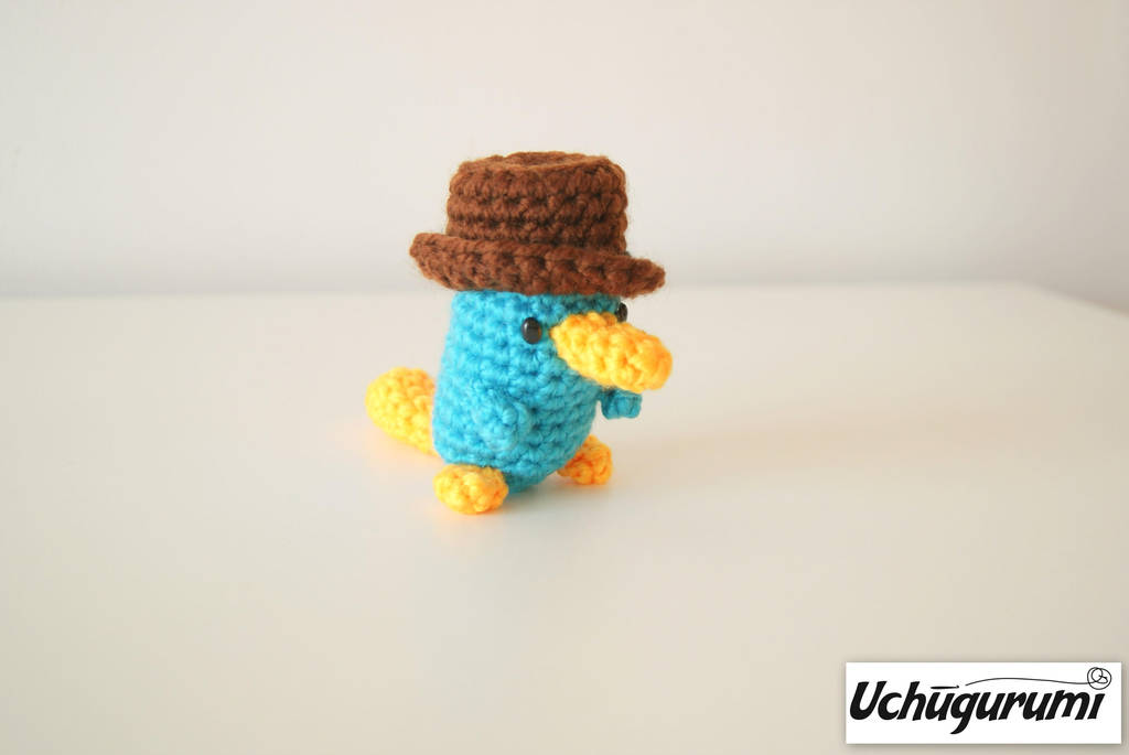 Perry The Platypus Amigurumi Phineas And Ferb By Uchugurumi On