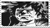 Stamp Izuku/AllMight Face 2 by MiharuyYoite