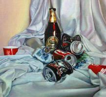 Still Life with Trash by IMDWDW