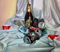 Still Life with Trash V2 by IMDWDW