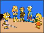 Swords on the Beach by Gazmanafc