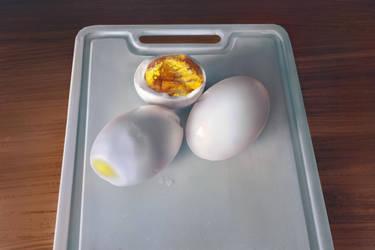 Eggs by iatemypencils