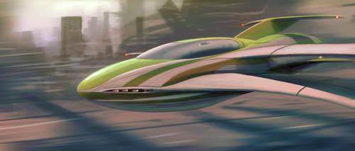 Dimension Glider by iatemypencils