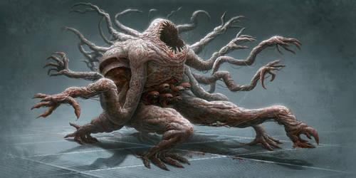 creature dude by iatemypencils