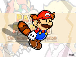 Paper Mario 2:Raccoon Mario by Segavenom