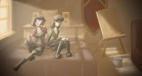 Daria And Jane - Fanart by ElDangerrible
