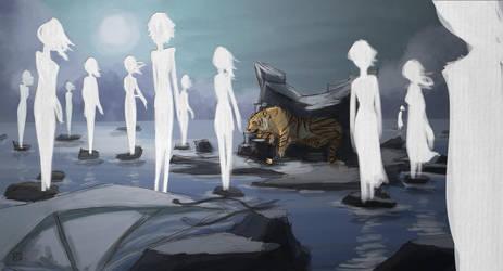 Ghosts Never Die by ElDangerrible