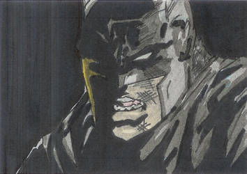 The Batman sketch card by patera22