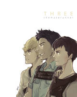 The Maze Runner - THREE. by tedizack