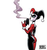 Smoking Gun Harley by BrandonPalas