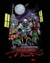 Evil Clowns by BrandonPalas