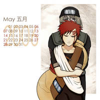 Naruto-Shounen Ai Cal-May by Kagaya