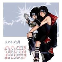 Naruto-Shounen Ai Cal-June by Kagaya