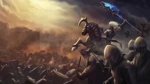 Jerusalem battle by Azaggon