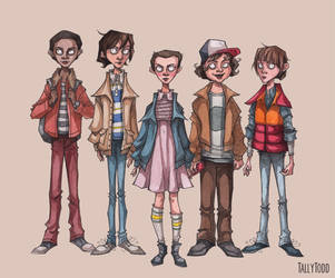 Stranger Things by TallyTodd