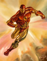 Iron Man (Julie Bell Study) by RRoehrig35